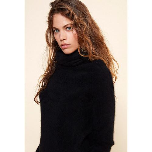 Black  Knit  Cats Eyes Mes demoiselles fashion clothes designer Paris
