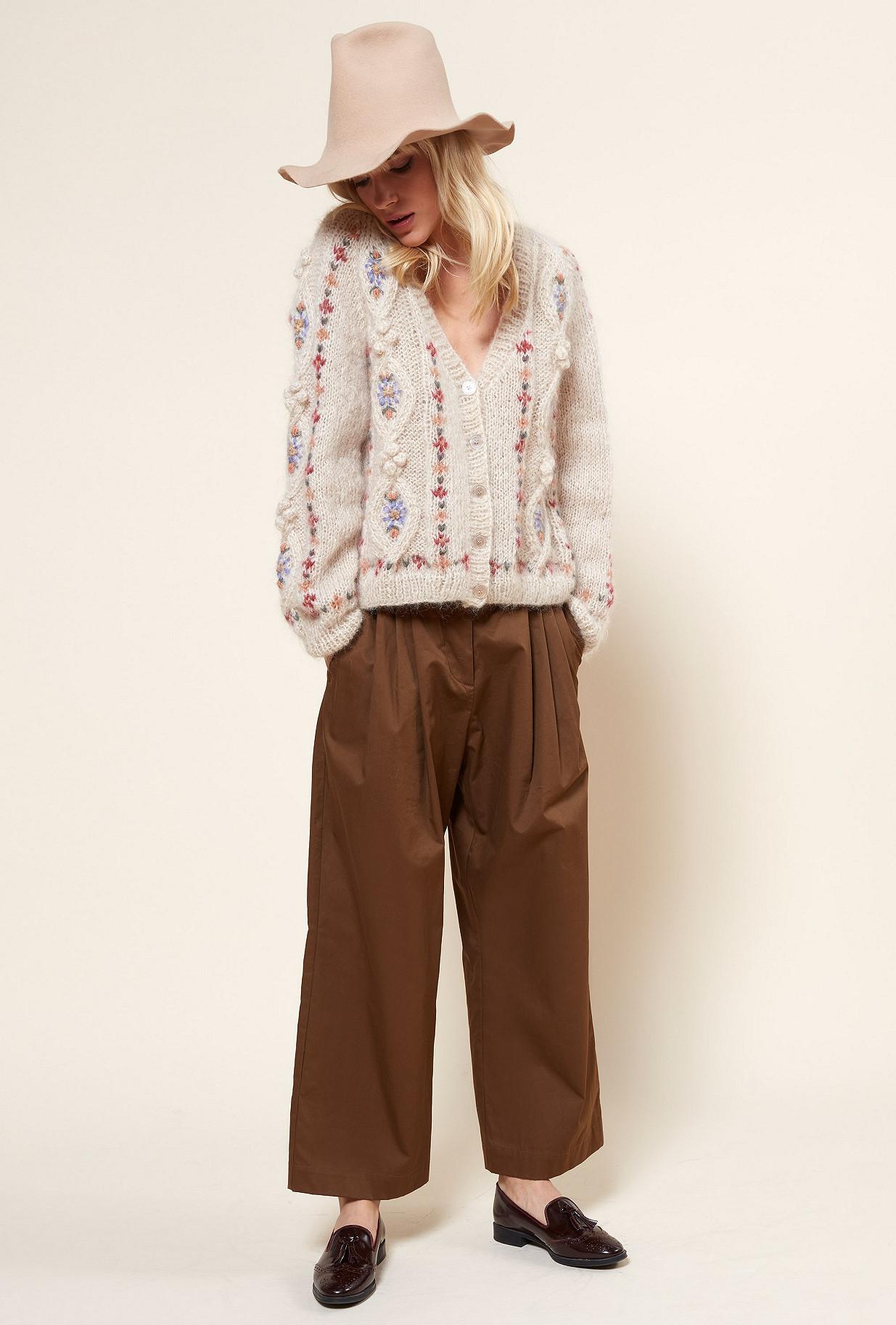 Natural print Knit Chelsea Mes Demoiselles Paris