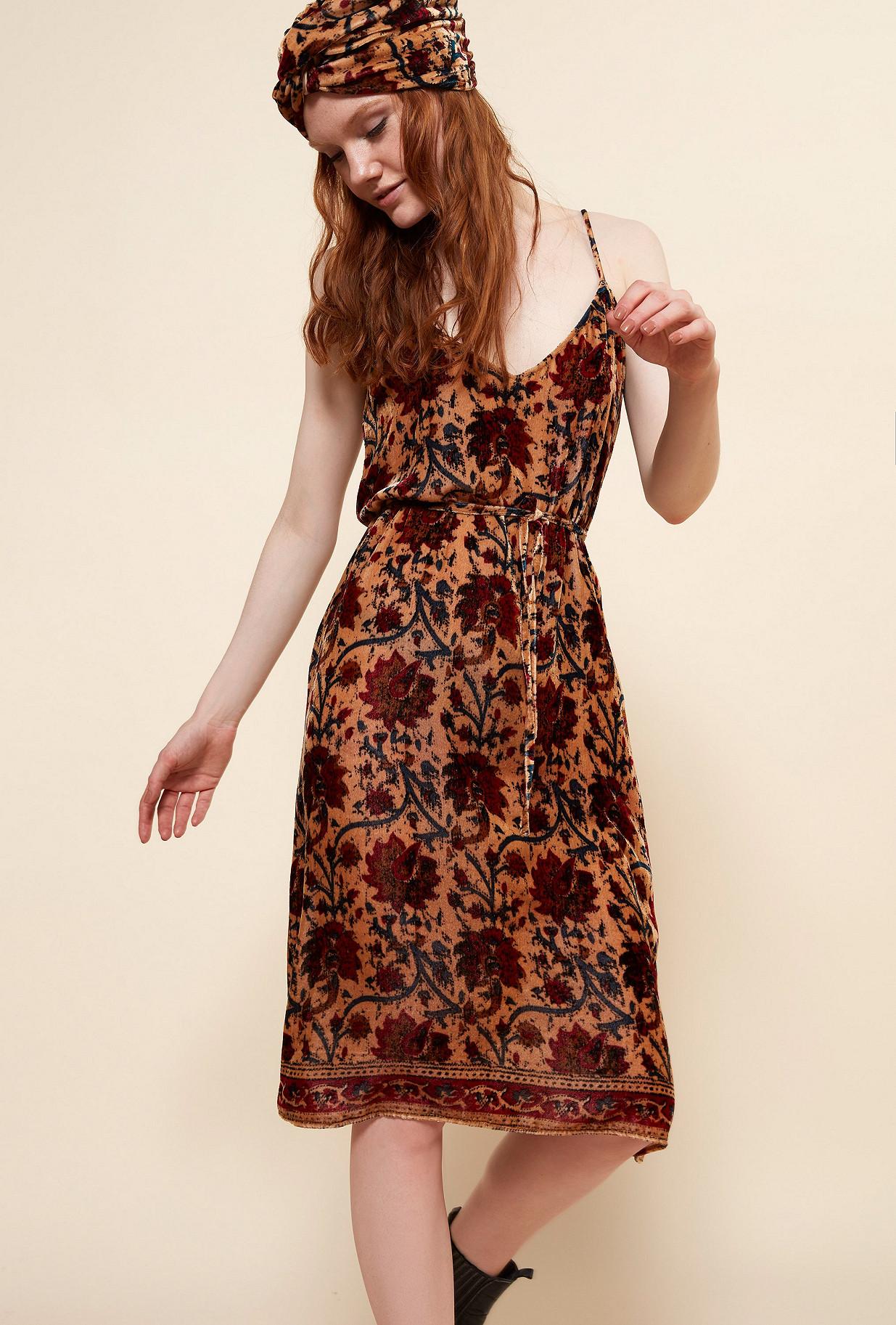Floral print  Dress  Chopin Mes demoiselles fashion clothes designer Paris