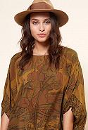 clothes store PONCHO  Cyan french designer fashion Paris