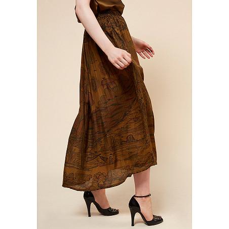 clothes store Skirt  Cyclamen french designer fashion Paris