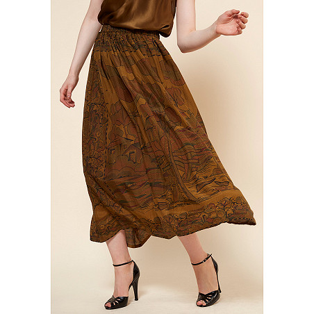 clothes store SKIRTS  Cyclamen french designer fashion Paris