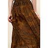 Paris boutique de mode vêtement Jupe créateur bohème  Cyclamen