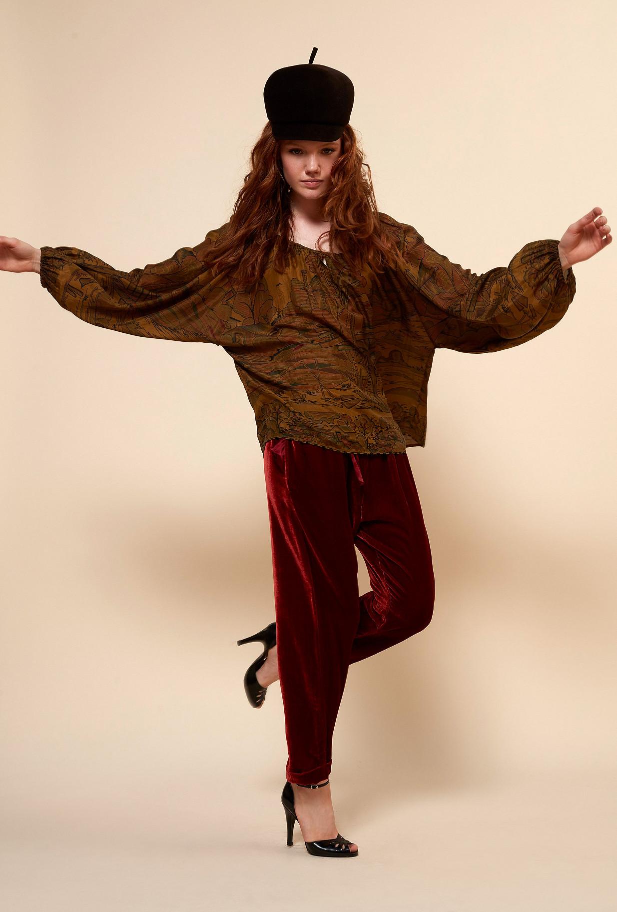 Paris boutique de mode vêtement Blouse créateur bohème  Cyd