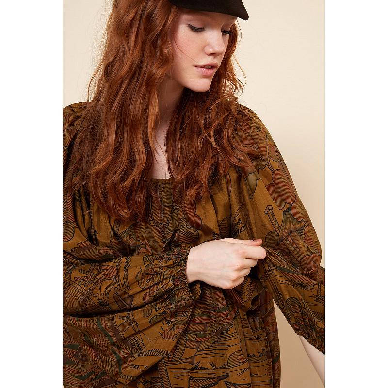 Paris clothes store Blouse  Cyd french designer fashion Paris
