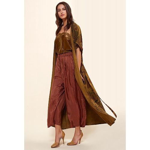 Khaki  KIMONO  Cypress Mes demoiselles fashion clothes designer Paris