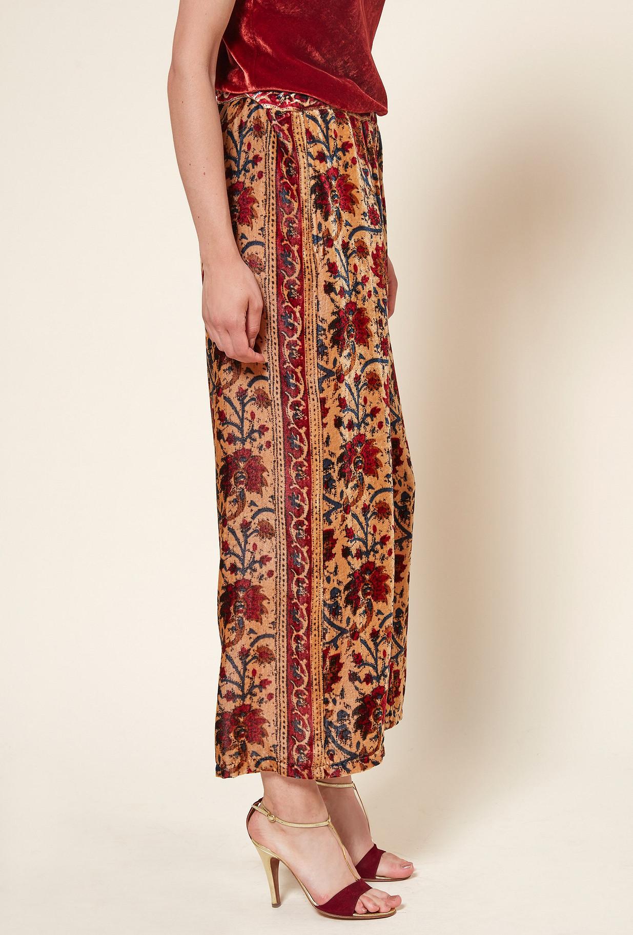 Floral print  PANT  Cyrus Mes demoiselles fashion clothes designer Paris