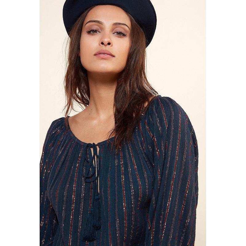 Paris clothes store Blouse  Elize french designer fashion Paris