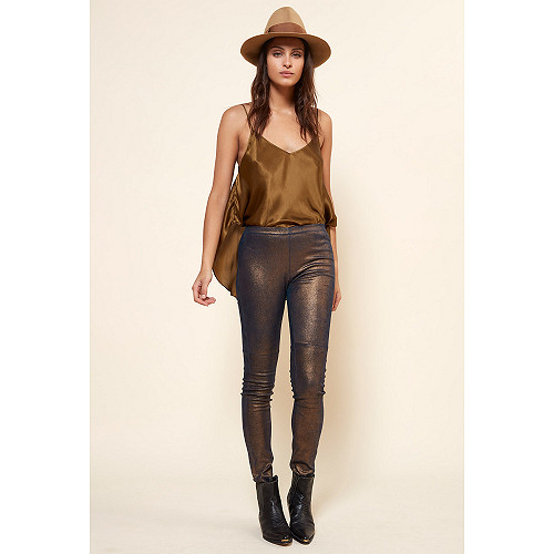 Gold PANT Esther Mes Demoiselles Paris
