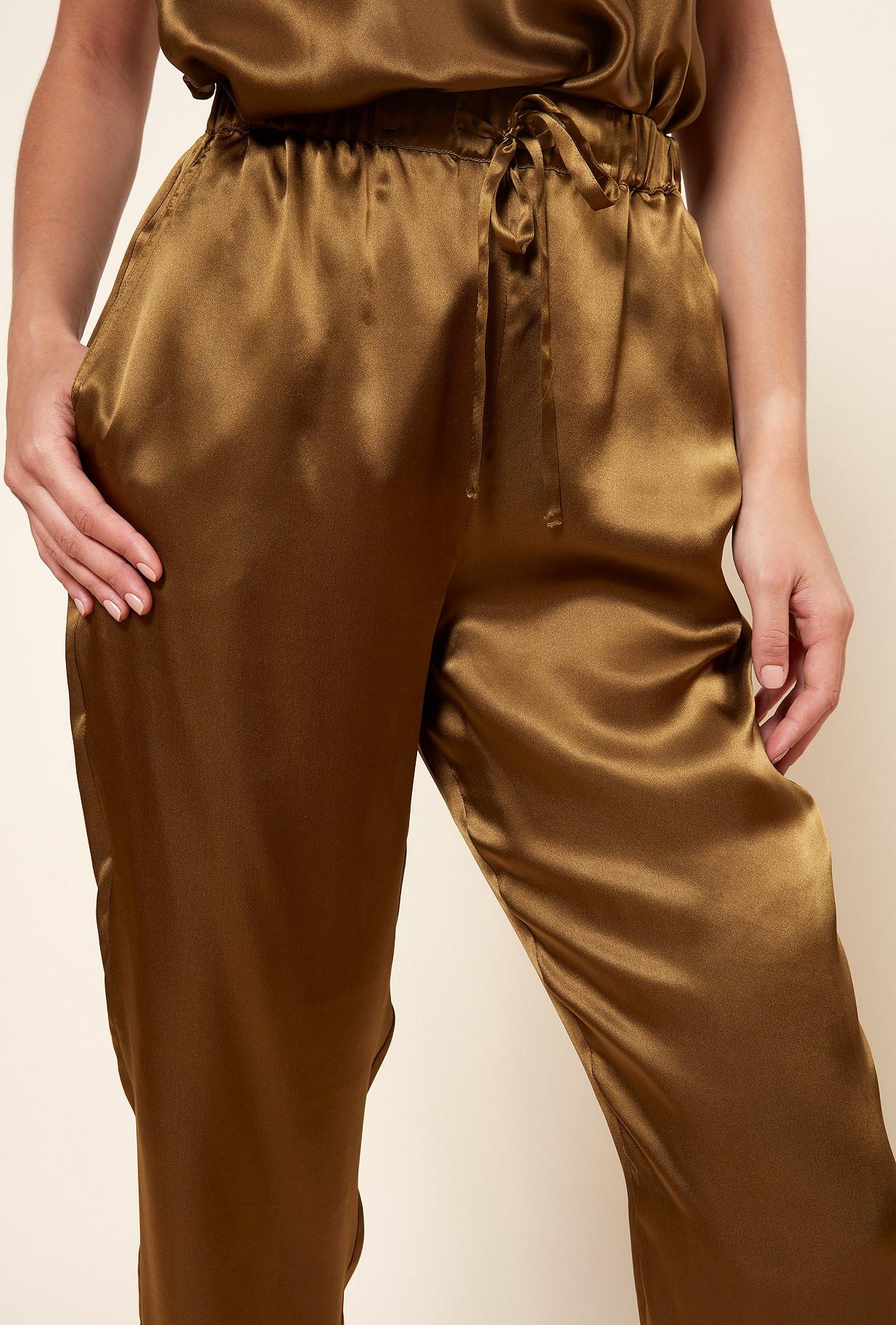 Khaki  PANT  Fester Mes demoiselles fashion clothes designer Paris