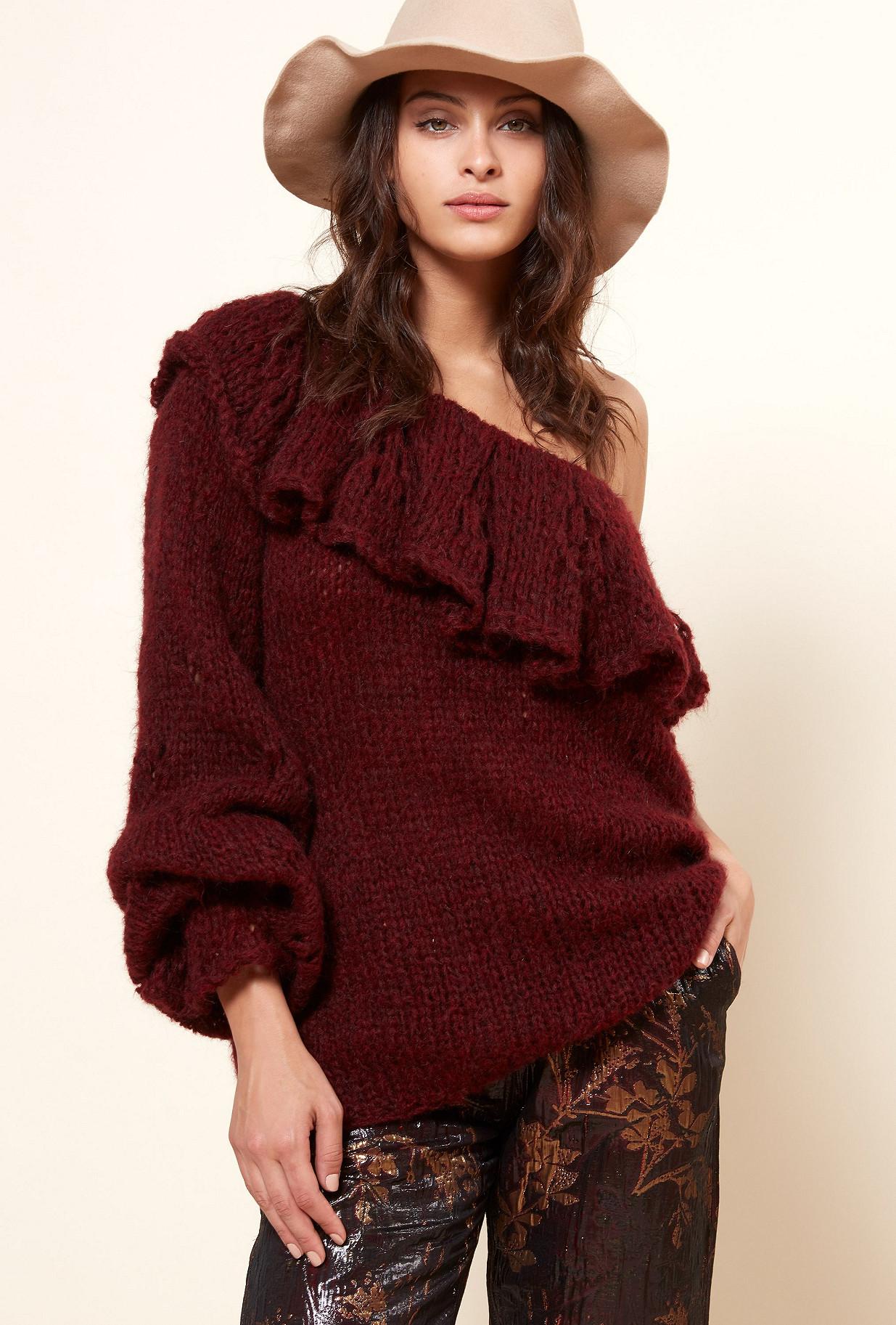 Paris boutique de mode vêtement Maille créateur bohème  Frileuse