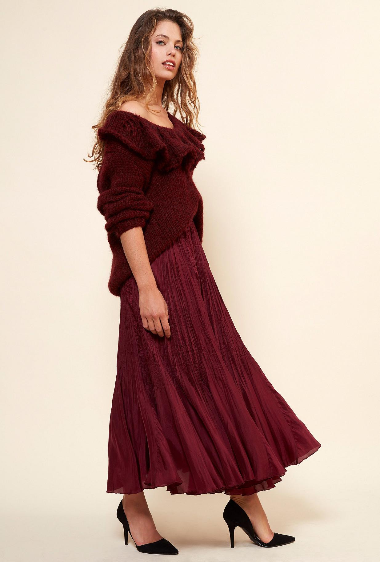 Maille Rouge  Frisco mes demoiselles paris vêtement femme paris