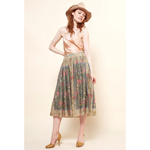 Bronze Skirt Eclatante Mes Demoiselles Paris