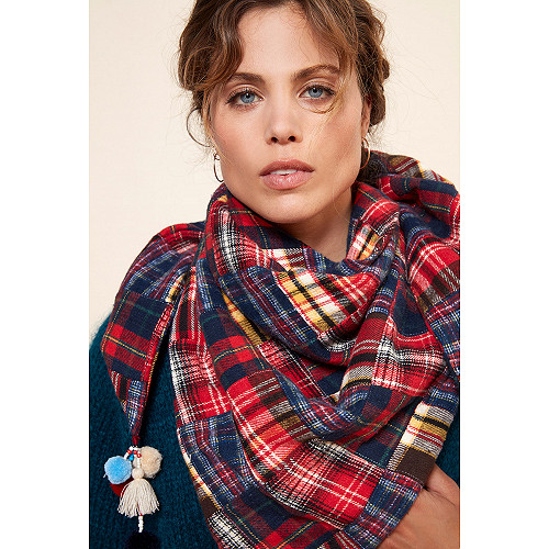 Scarf Gigi Mes Demoiselles color  Scottish
