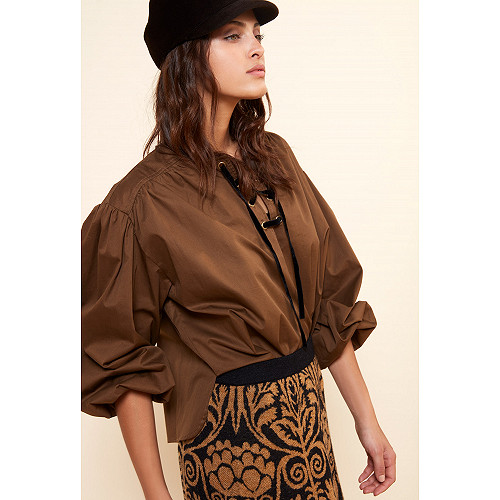 Khaki Blouse Graham Mes Demoiselles Paris