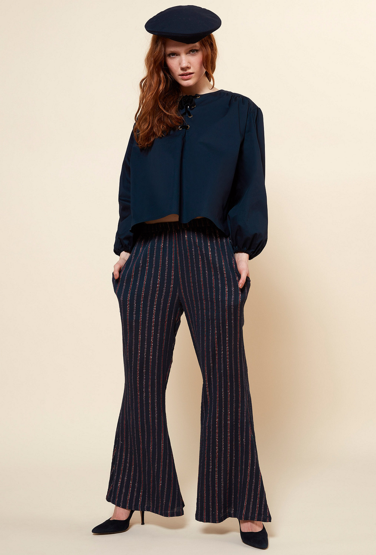 Navy Blouse Graham Mes Demoiselles Paris