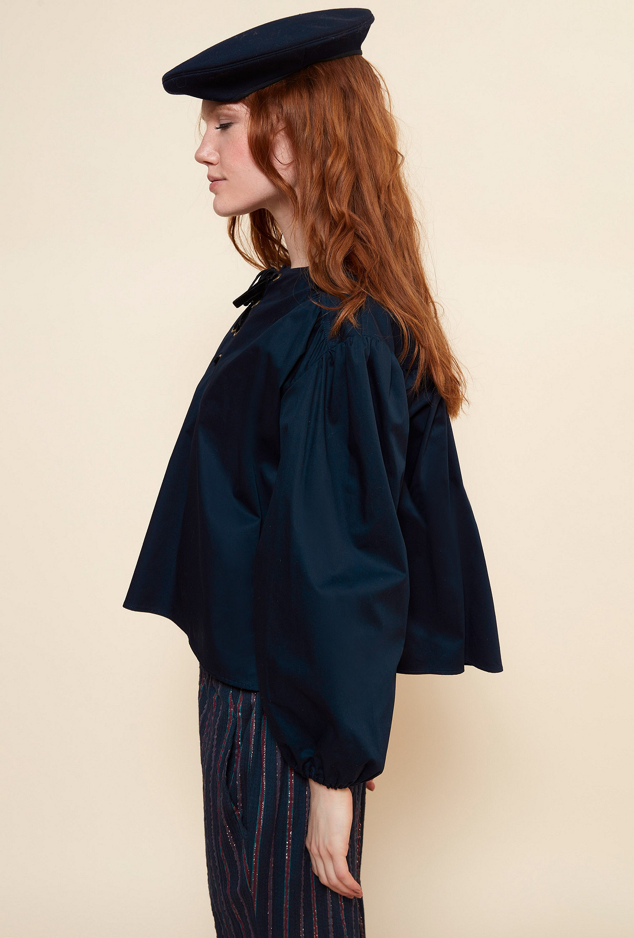 Blouse Navy Graham Mes Demoiselles Paris