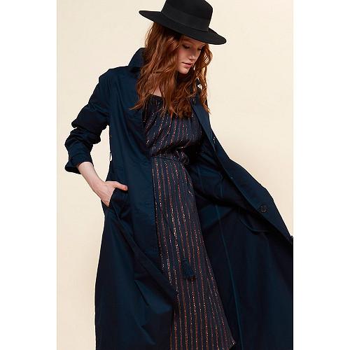 Navy  COAT  Grant Mes demoiselles fashion clothes designer Paris