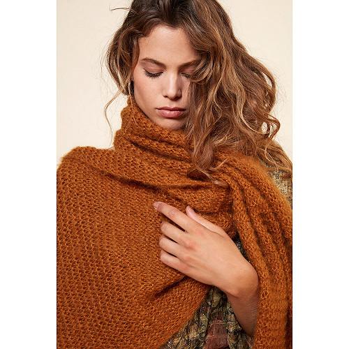 Ocre  Scarf  Jaz Mes demoiselles fashion clothes designer Paris