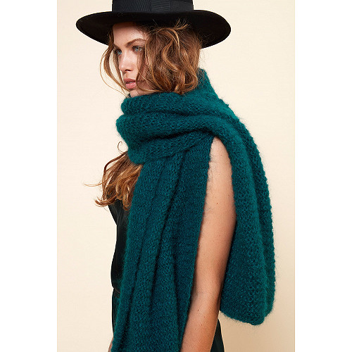 Scarf Jaz Mes Demoiselles color Green