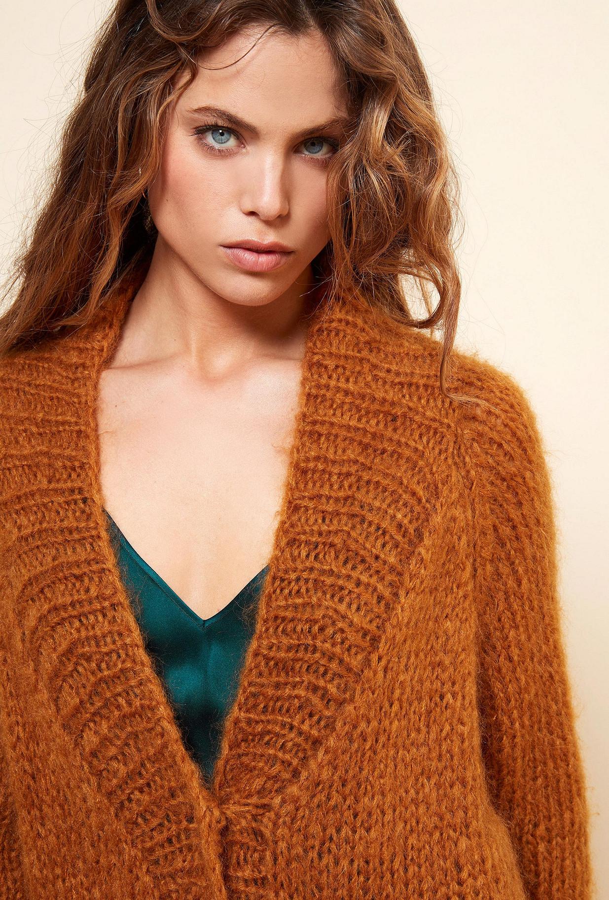 Ocre  Knit  Jecko Mes demoiselles fashion clothes designer Paris