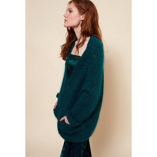 Green  Knit  Jecko Mes demoiselles fashion clothes designer Paris