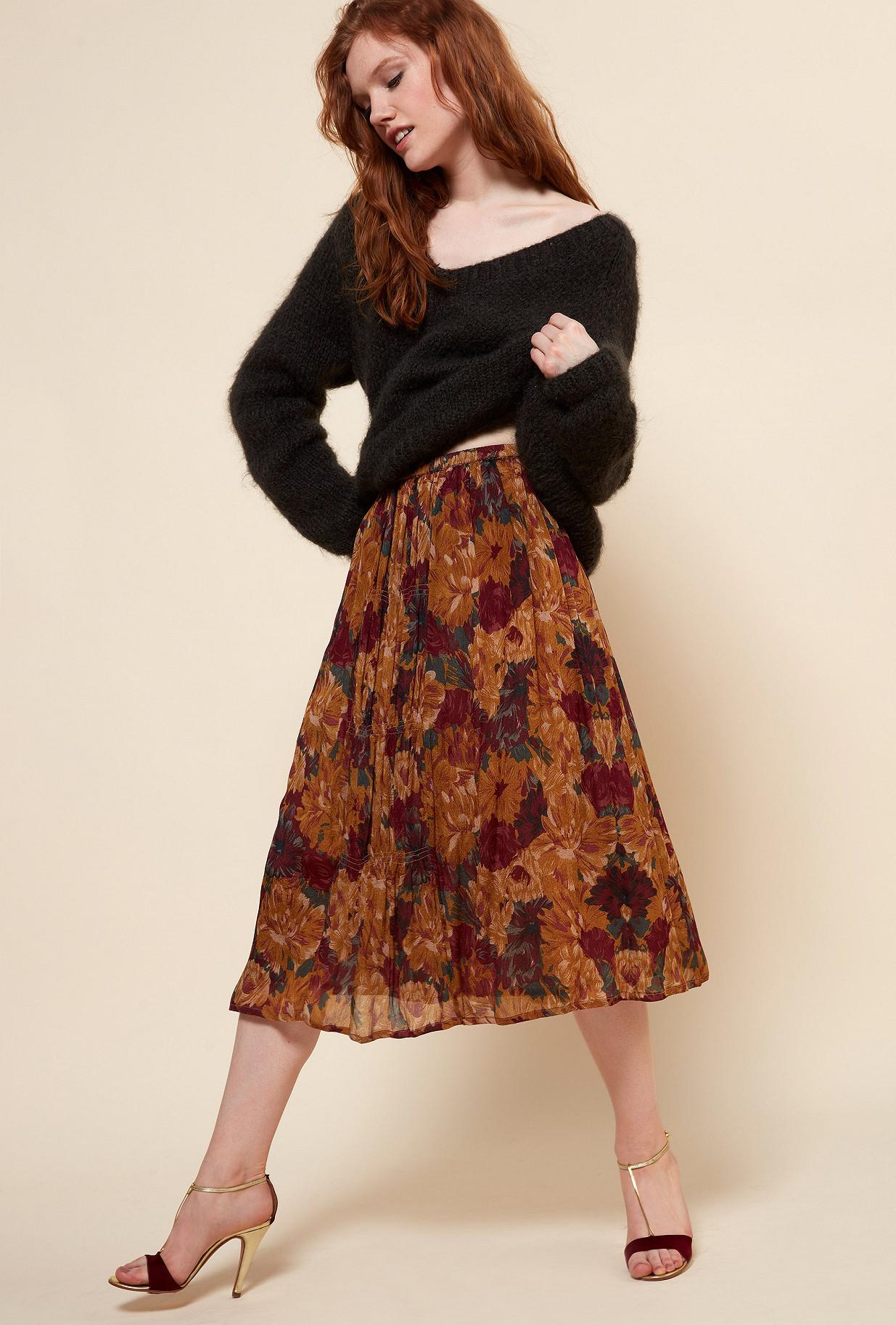 Paris boutique de mode vêtement Jupe créateur bohème  Ose