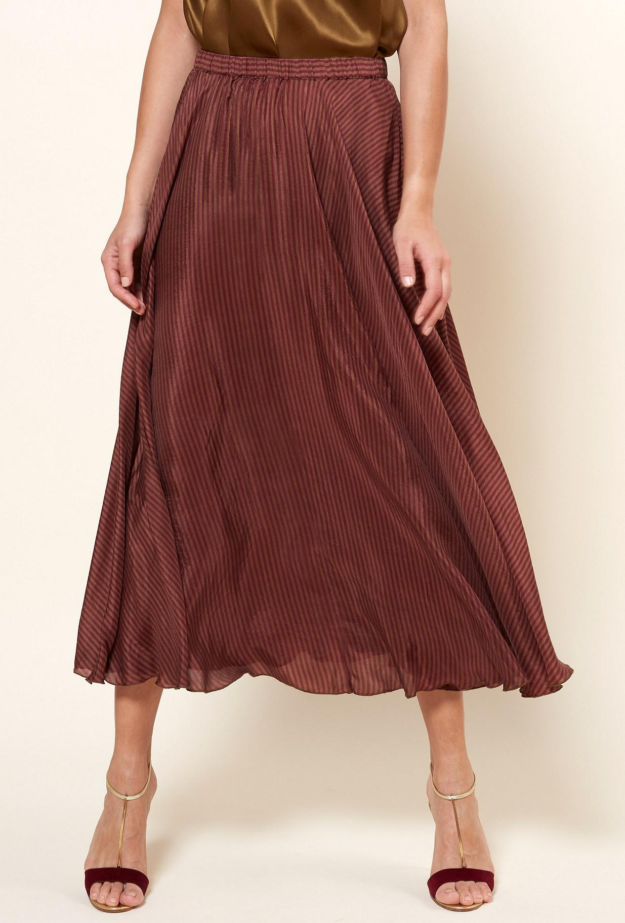 Red stripe  Skirt  Penelope Mes demoiselles fashion clothes designer Paris
