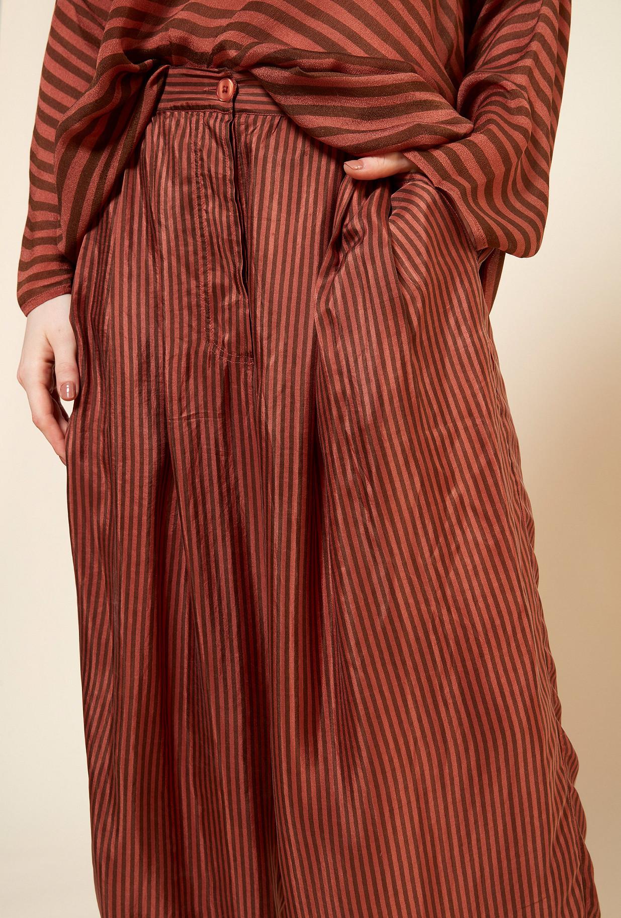Powder stripe  PANT  Persephone Mes demoiselles fashion clothes designer Paris