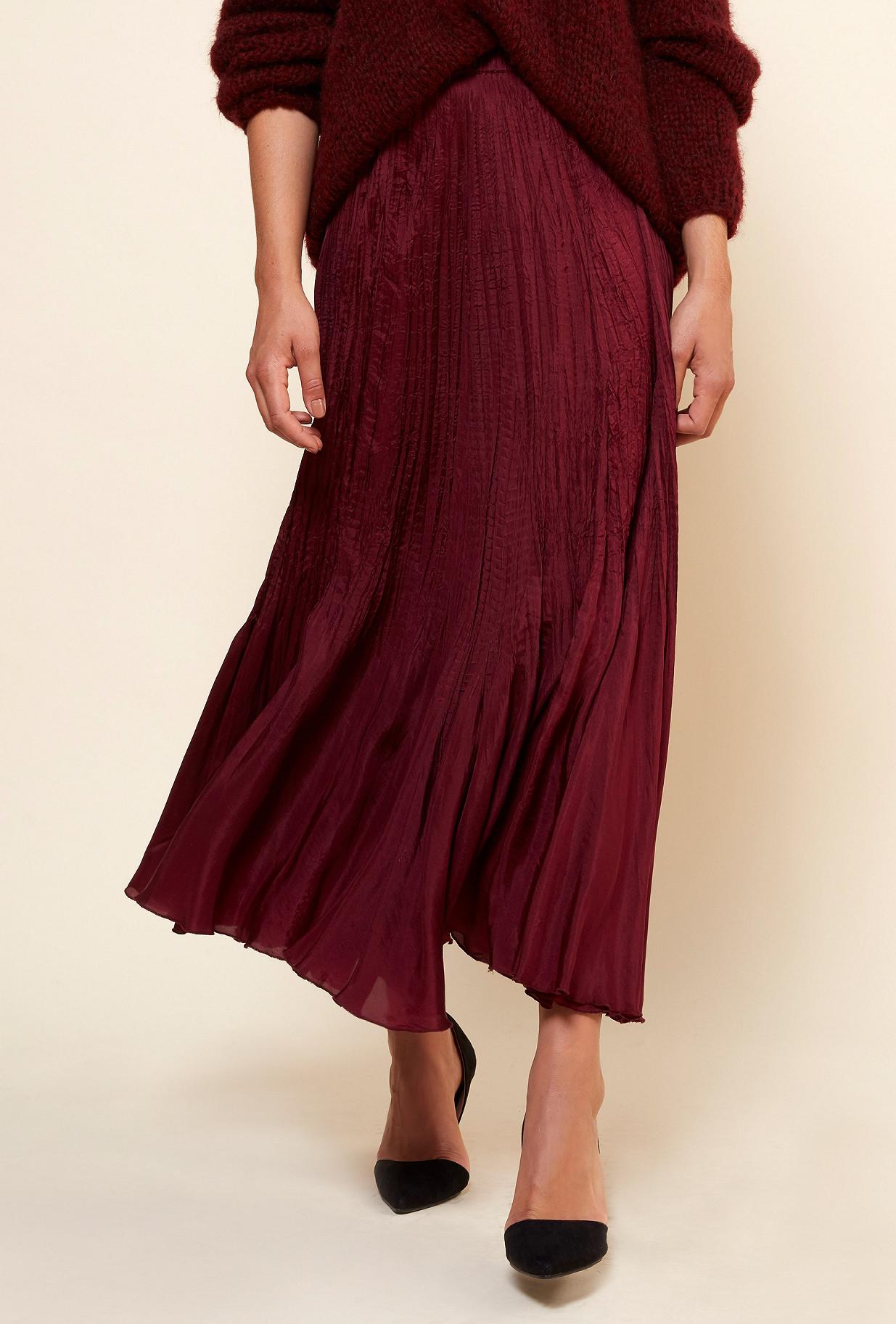 Berry  Skirt  Phedre Mes demoiselles fashion clothes designer Paris
