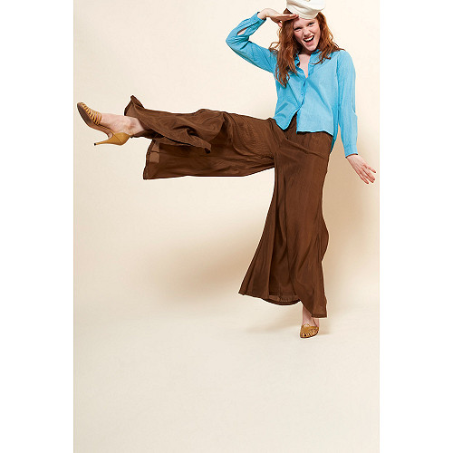 Khaki  PANT  Phoebus Mes demoiselles fashion clothes designer Paris