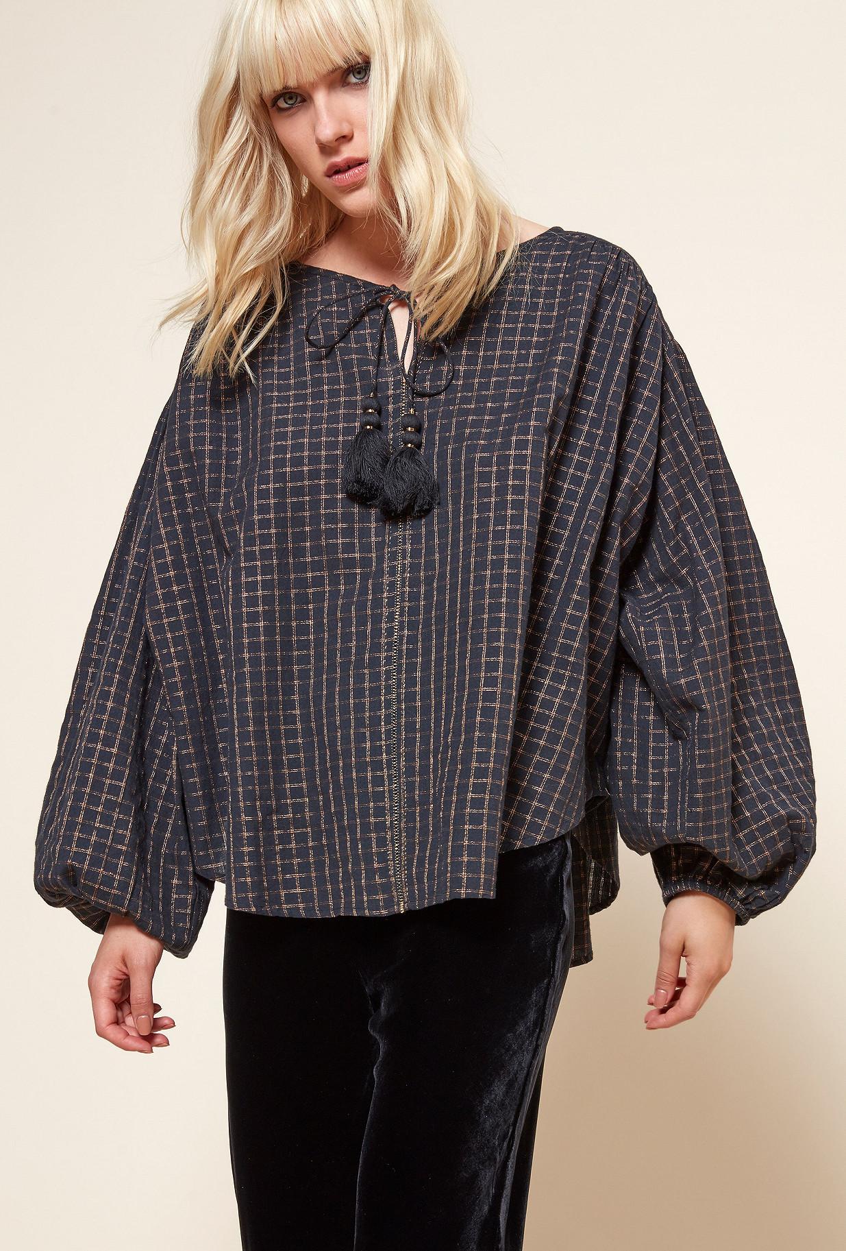 Black  Blouse  Senator Mes demoiselles fashion clothes designer Paris