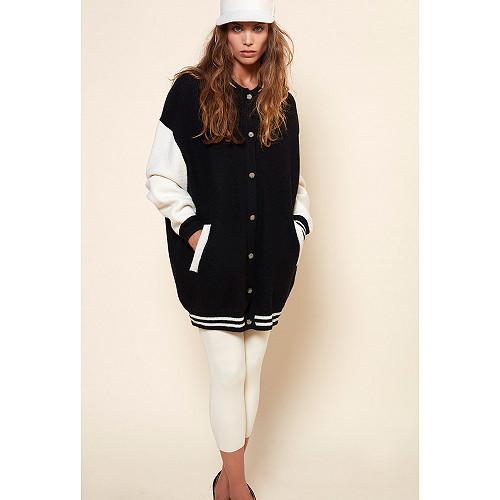 Black  COAT  Slater Mes demoiselles fashion clothes designer Paris