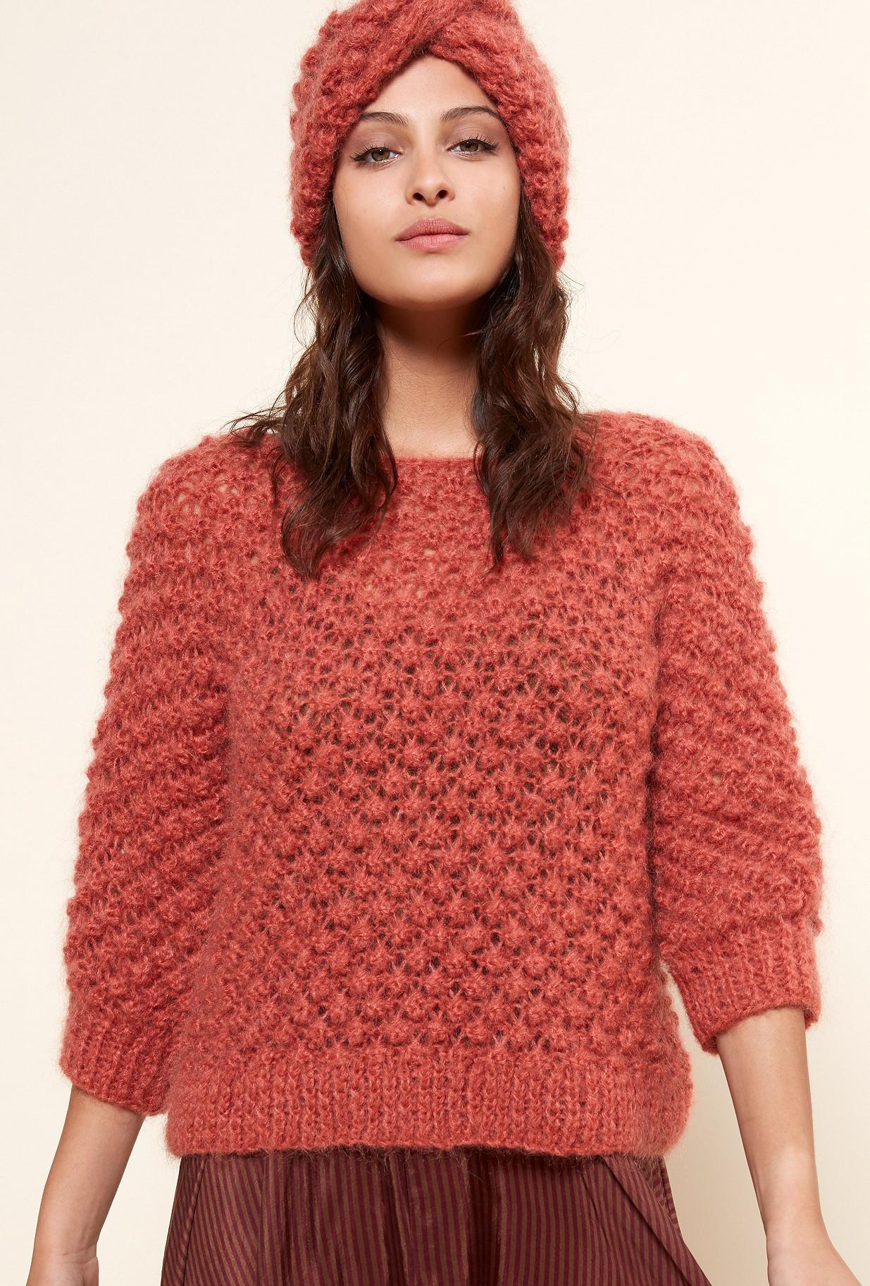 Paris boutique de mode vêtement Maille créateur bohème  Snow flake