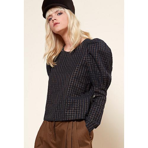 Black  TOP  Solveig Mes demoiselles fashion clothes designer Paris