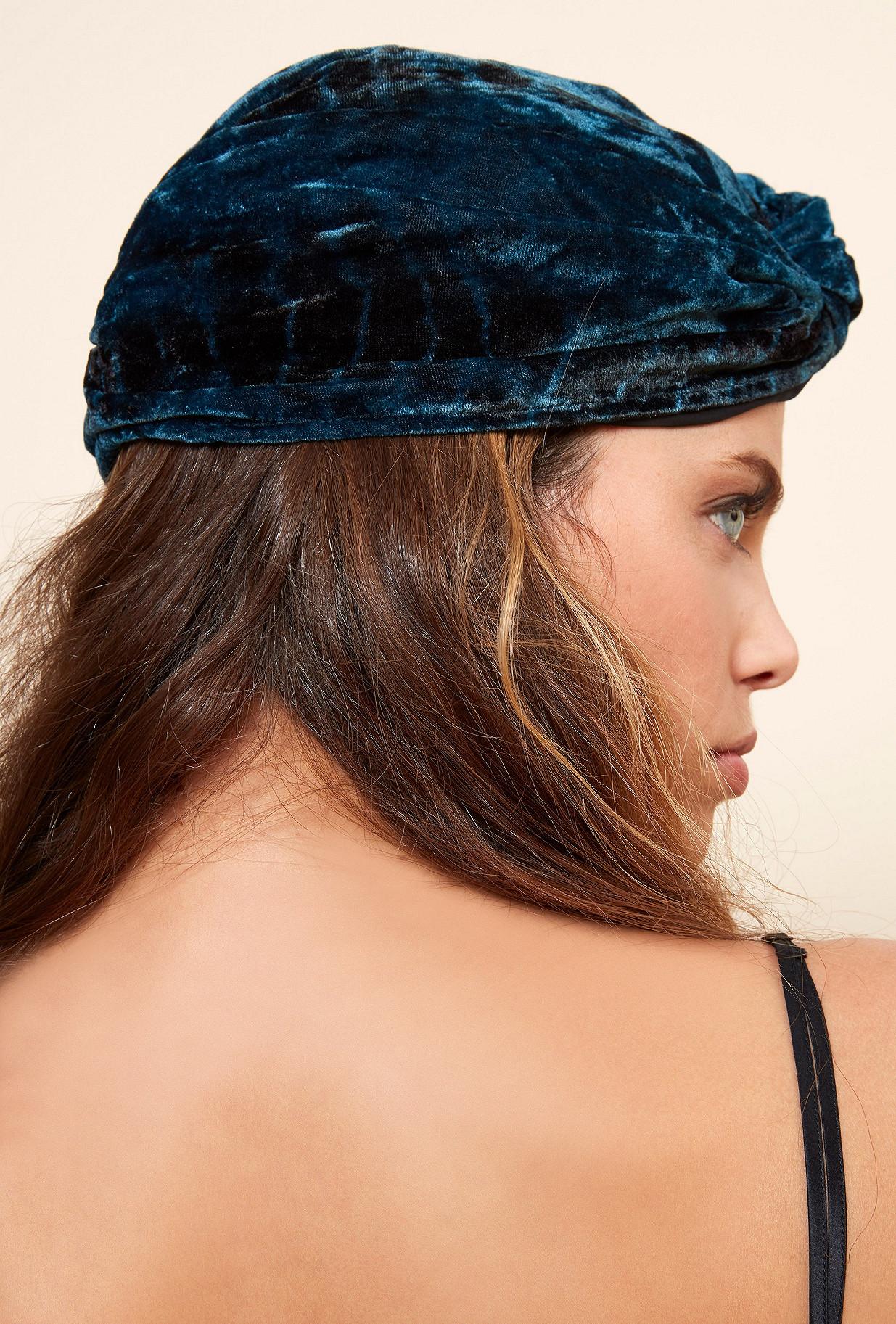 Blue  Scarf  Suez Mes demoiselles fashion clothes designer Paris