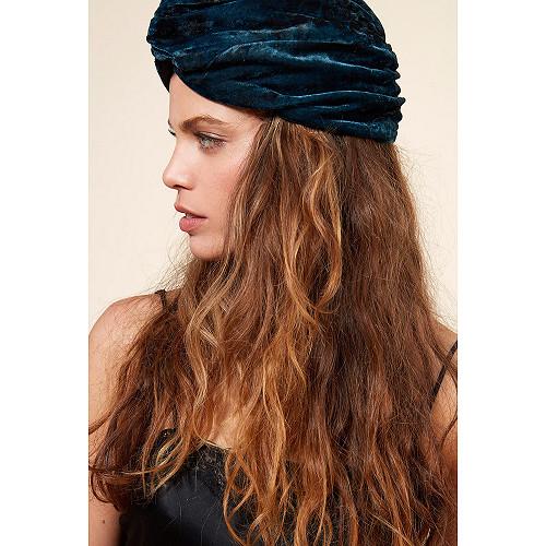 Turban Bleu  Suez mes demoiselles paris vêtement femme paris