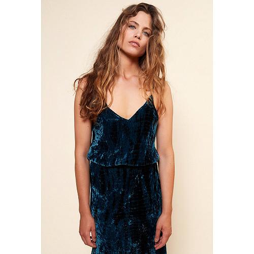 Robe Bleu  Suzie mes demoiselles paris vêtement femme paris