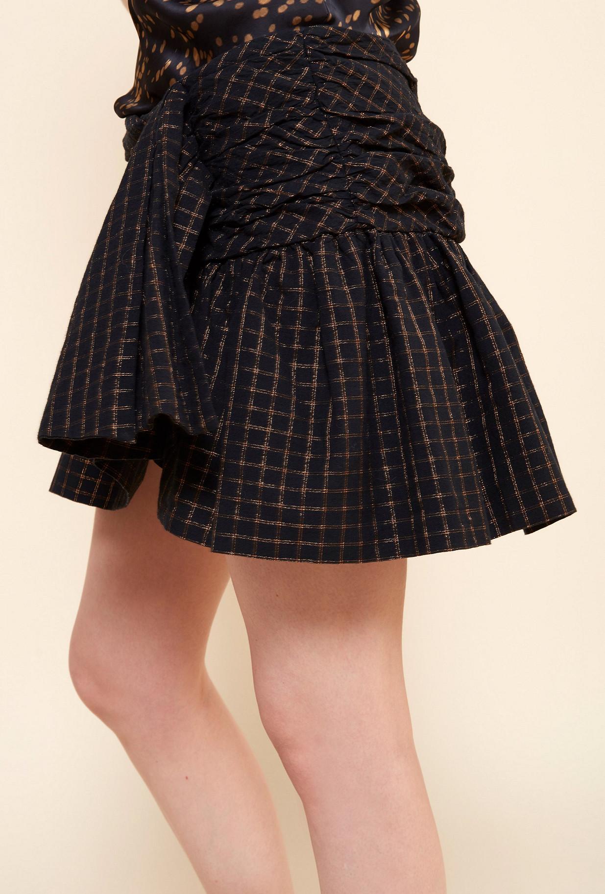 Black  Skirt  Sylvia Mes demoiselles fashion clothes designer Paris