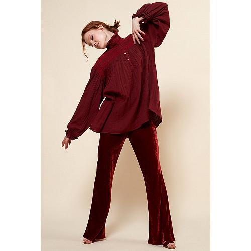 Blouse Rouge  Tartuffe mes demoiselles paris vêtement femme paris