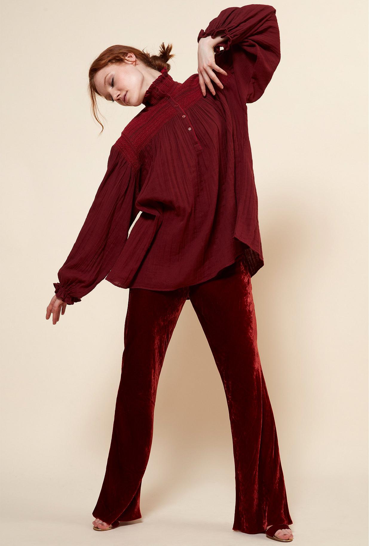Paris boutique de mode vêtement Blouse créateur bohème Tartuffe