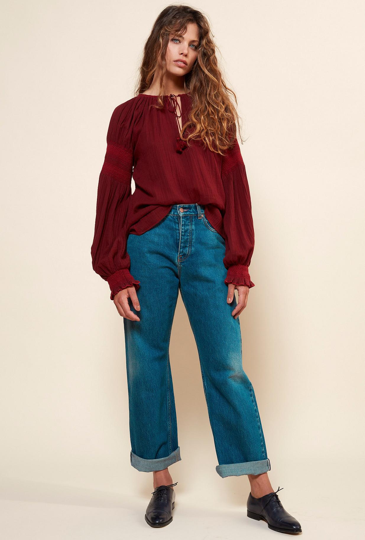 Paris boutique de mode vêtement Blouse créateur bohème  Tircis