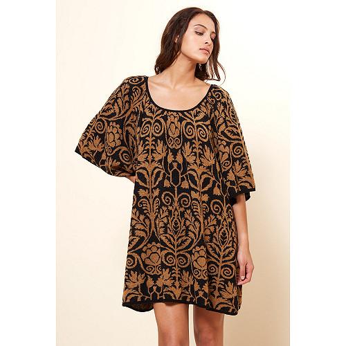Black print  Knit  Yami Mes demoiselles fashion clothes designer Paris