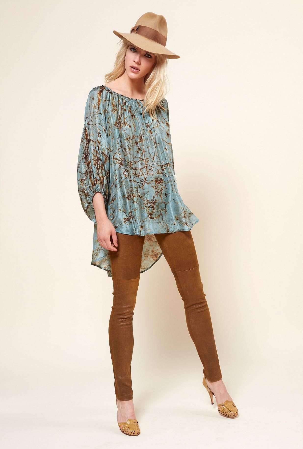 Paris boutique de mode vêtement Blouse créateur bohème  Mallaury