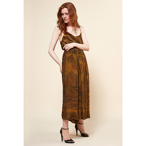 Khaki Skirt Cyclamen Mes Demoiselles Paris