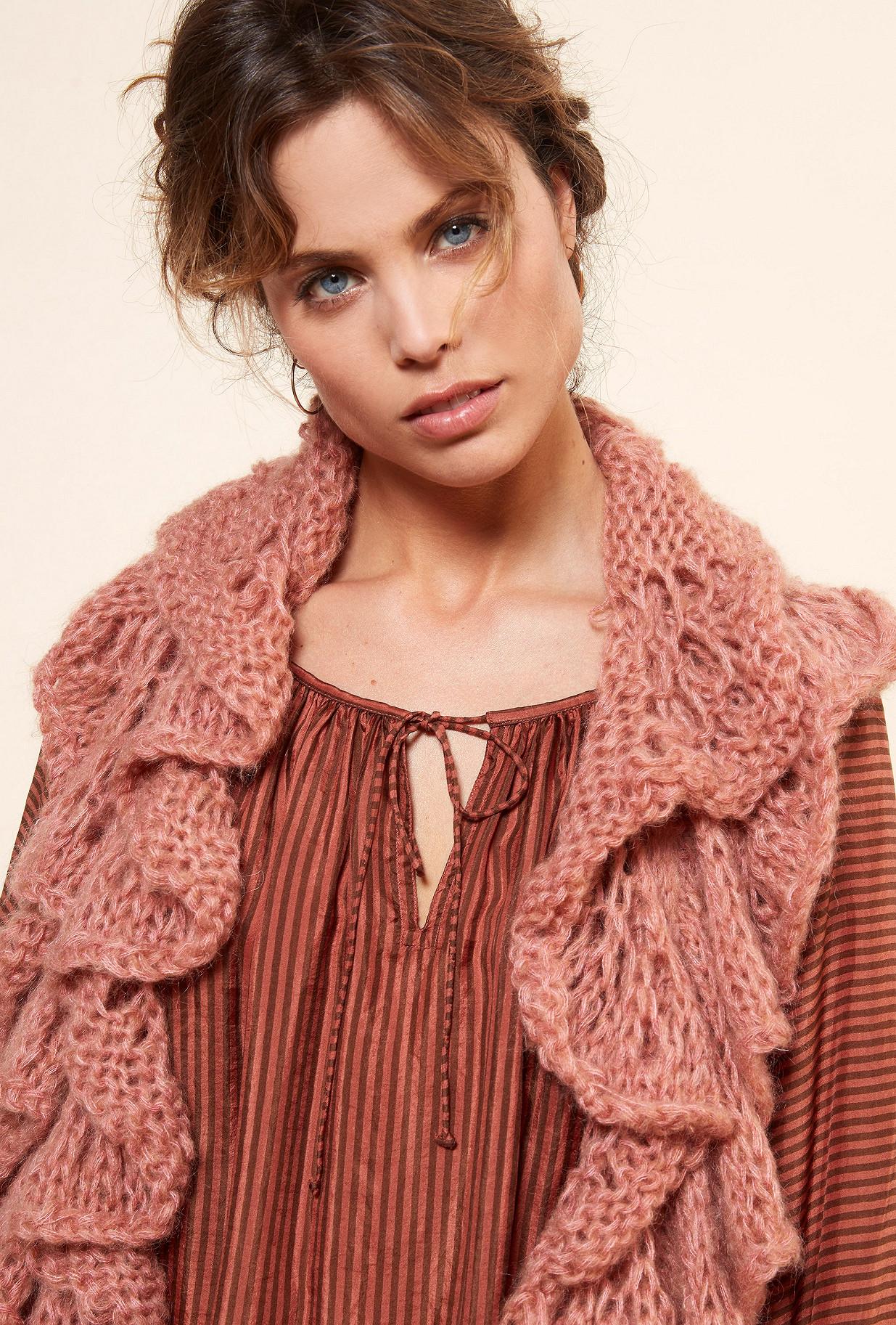 Paris boutique de mode vêtement Écharpe créateur bohème  Frimouse