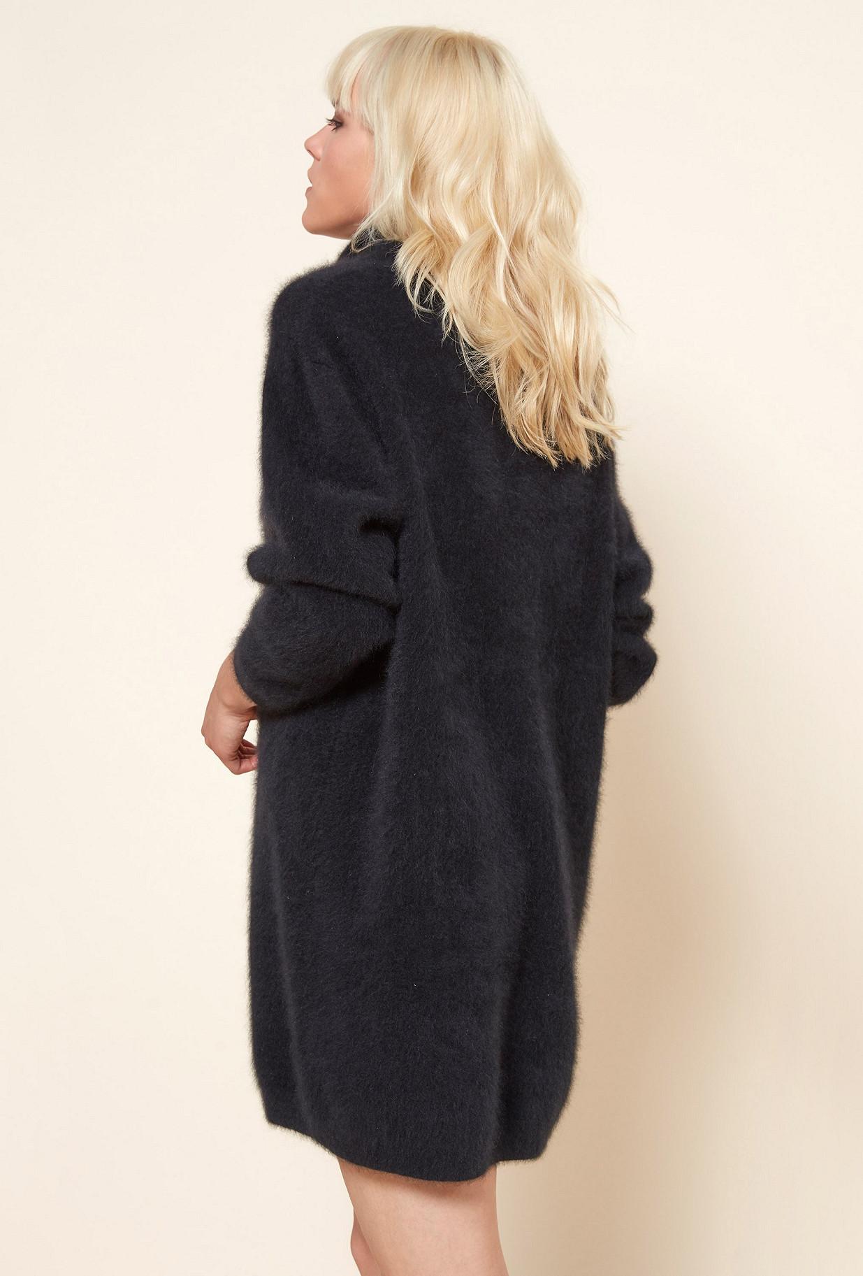 Black  Knit  Catousha Mes demoiselles fashion clothes designer Paris