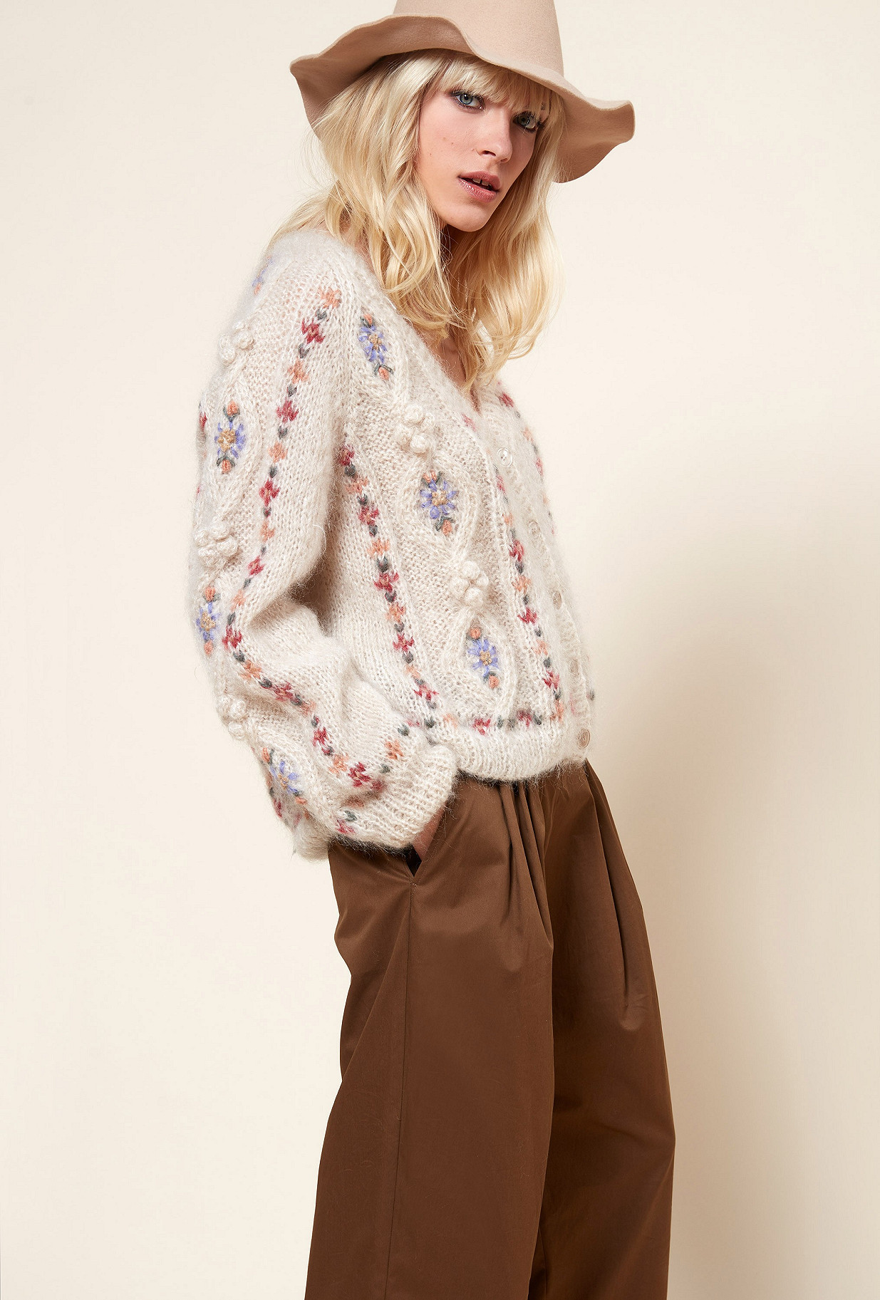 Paris boutique de mode vêtement Maille créateur bohème  Chelsea