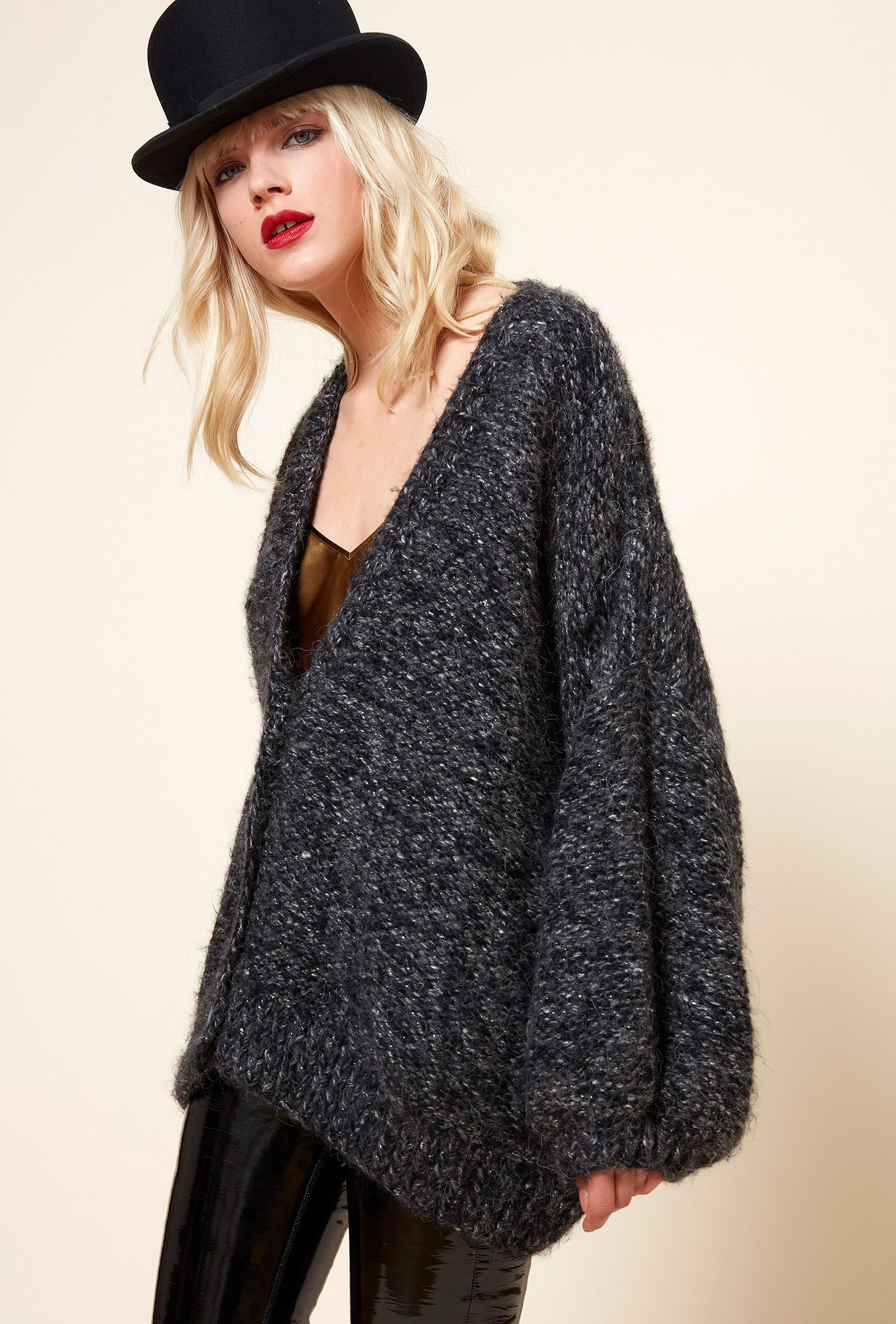 Grey  Knit  Appalaches Mes demoiselles fashion clothes designer Paris