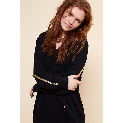 Sweater Colette Mes Demoiselles color Black